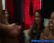 Cfnm Ladies Stroke Cock - scene 5