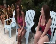 Horny Girlfriends Fucking Each Other With Toys - scene 1