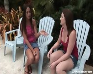 Horny Girlfriends Fucking Each Other With Toys - scene 2