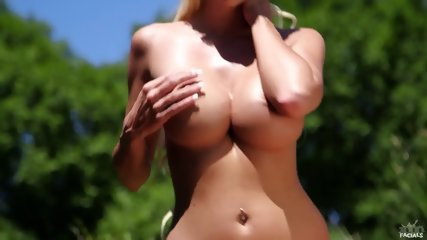Beautiful Blonde Licks Dick - scene 3