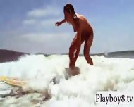 Busty Hot Babes Enjoyed Snow Boarding And Frisky Fishing - scene 1