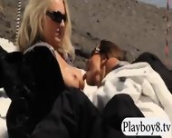 Busty Hot Babes Enjoyed Snow Boarding And Frisky Fishing - scene 11