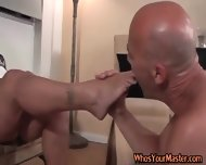 Submissive Guy Fucked By His Fat Wife - scene 2