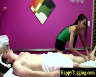 Real Asian Masseuse Makes Client Horny - scene 5