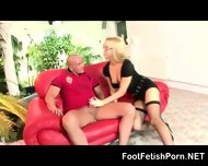 Blond Wife Gifs Racy Show - scene 6