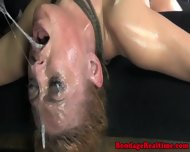 Filthy Submissive Choking On Black Cock - scene 8