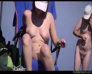 Round Big Ass Nudist Milf - scene 1