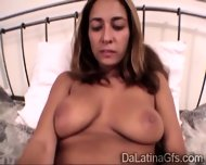 Busty Latina Amateur Masturbates In Front Of The Camera - scene 8