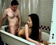 Horny Couple Getting Hotter With Each Minute Of Bath - scene 2