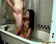 Horny Couple Getting Hotter With Each Minute Of Bath - scene 3