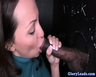 Cum Wanting Gloryhole Babe Loves Facials - scene 8