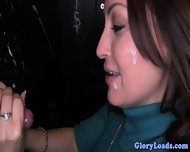 Cum Wanting Gloryhole Babe Loves Facials - scene 4