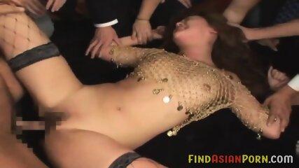Aya Fukunaga gangbang by 20 guys cream pie - JAPANESE DANCER FUCK [PART 2]