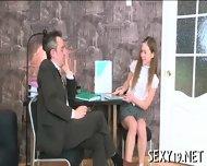 Babe Gets Hot Fucking Lesson - scene 2
