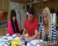 Arousing Threesome Fornication - scene 2