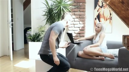 Making Love With Delicate Blonde - scene 1