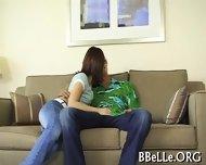 Lusty Wanking With Babe - scene 6