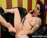 Lesbian Goths Feet Fuck - scene 10