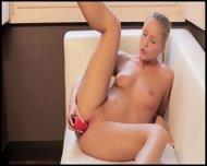Red Sexy Toy In Her Elegant Snatch - scene 9