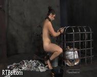 Facial Torture For Pretty Babe - scene 1