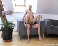 Sensual Anal Love On Armchair - scene 9