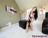 Sexy Big Titted Spunk - scene 1