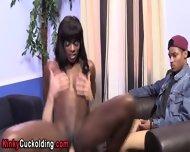 Ebony Babe Fucks Big Cock - scene 10