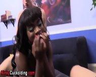 Ebony Babe Fucks Big Cock - scene 3