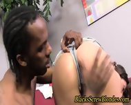 Hardcore Interracial Trio - scene 1