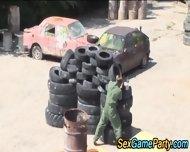 Paintball Group Fucking - scene 2