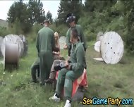 Paintball Group Fucking - scene 4