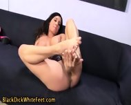 Horny Slut Toes Cummed On - scene 8