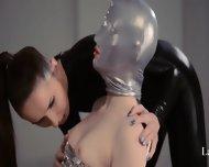 Luxury Strapon Girl2girl In Mask Playing - scene 2