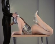 Luxury Strapon Girl2girl In Mask Playing - scene 7