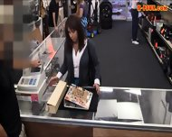 Busty Milf Pawns Her Pussy To Earn Money For Her Hubbys Bail - scene 2