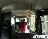 Fake Driver Slides His Cock In Wet Pussy Of Her Customer - scene 4