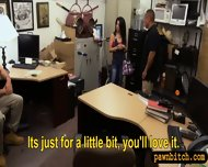 Pawn Man Fucked Busty Latina In The Backroom For Money - scene 4