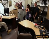 Pawn Man Fucked Busty Latina In The Backroom For Money - scene 5