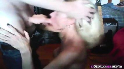 Hot Wife Blowjob And Facials Compilation - scene 11
