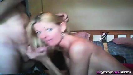 Hot Wife Blowjob And Facials Compilation - scene 5