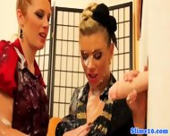 Pornstar Genny Tugs Gloryhole Dick - scene 5