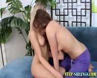Oral Lez Teen Step Sister - scene 5
