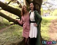 Old Lesbian Brit Fingers - scene 1