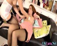 Old Lesbian Brit Fingers - scene 8