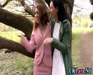 Old Lesbian Brit Fingers - scene 3