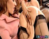 Old Lesbian Brit Fingers - scene 5