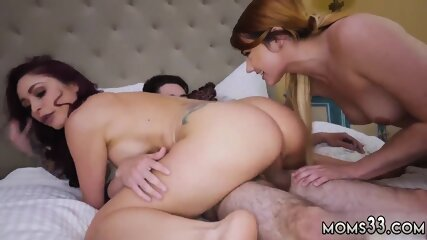 Mom my per playfellow s sonal and knocking xxx Awesome 4th Of July Threesome