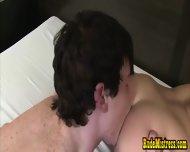 Blonde Femdom Bitch Dominates Bisex Boys - scene 10