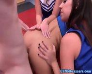 Teen Cfnm Babes Take Doggystyle Turns - scene 4