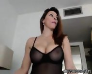 Super Hot Big Titty Milf Teases On Cam - scene 12